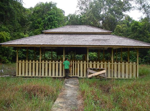 Objek Wisata Budaya Makam Gusti Raden Panji Ketapang, Kalbar