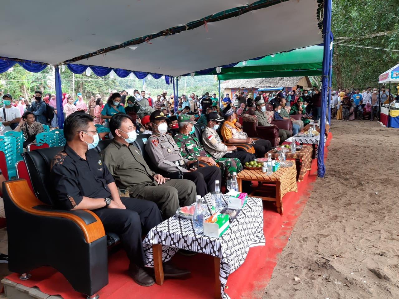 Peresmian Stasiun Riset Cabang Panti dan Soft Launching Desa Wisata Gunung Sembilan Taman Nasional Gunung Palung
